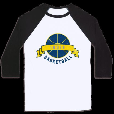 Indianapolis Basketball Baseball Tee