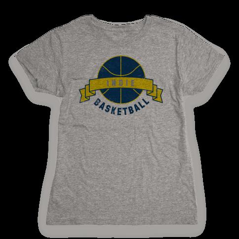 Indianapolis Basketball Womens T-Shirt