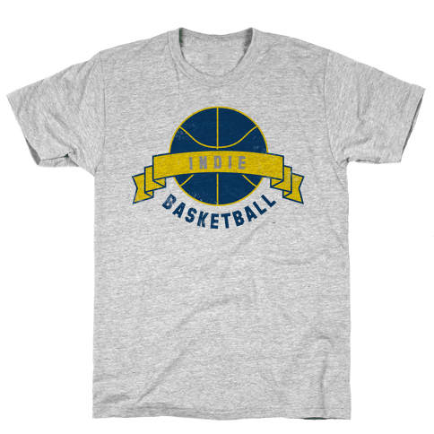 Indianapolis Basketball Mens T-Shirt