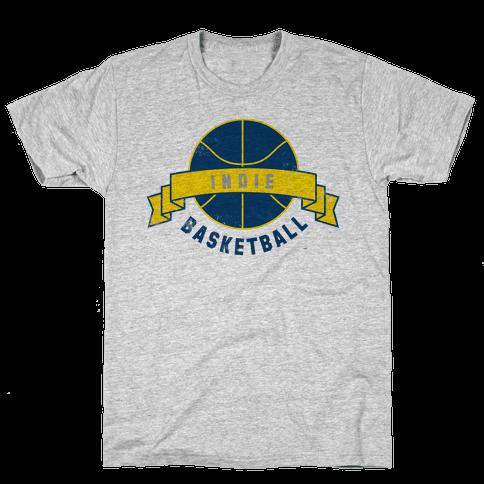Indianapolis Basketball Mens T-Shirt