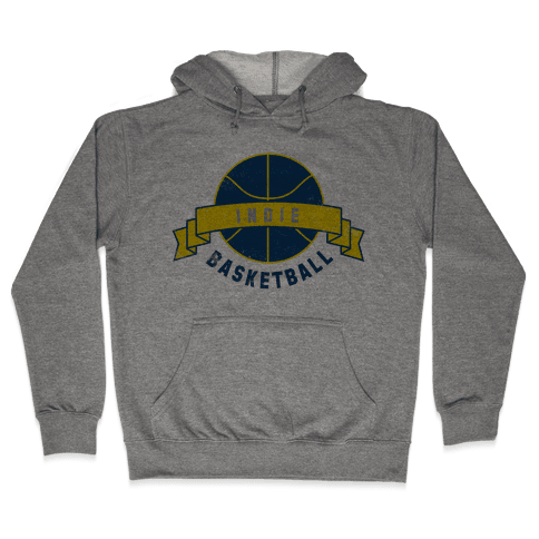 Indianapolis Basketball Hooded Sweatshirt