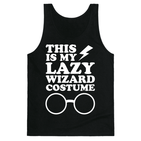 This is My Lazy Wizard Costume Tank Top