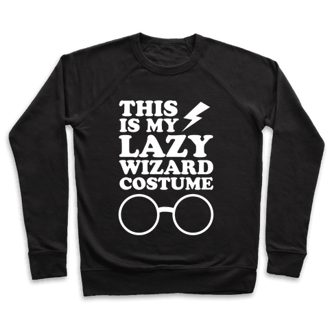 This is My Lazy Wizard Costume Pullover