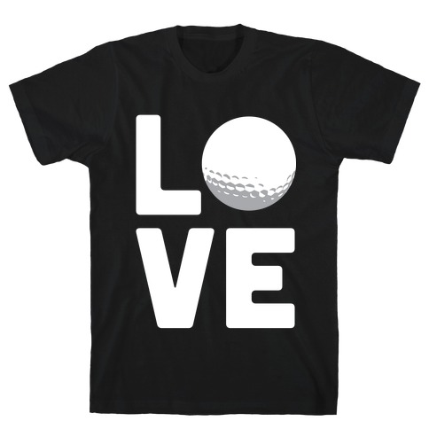 Love Golf (White Ink) T-Shirt