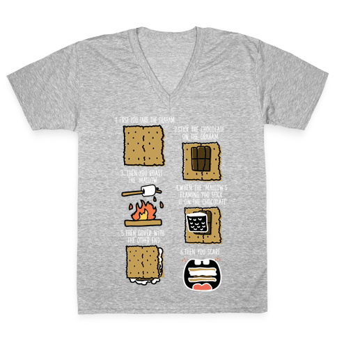 First You Take the Graham V-Neck Tee Shirt