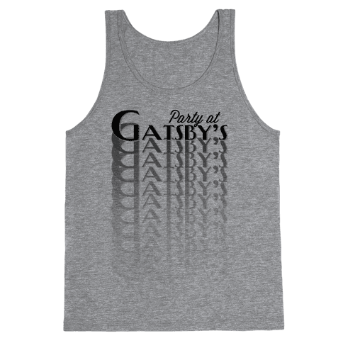 Party at Gatsby's Tank Top