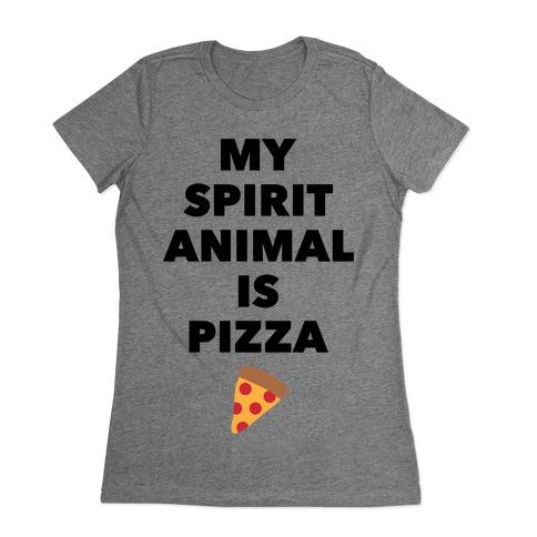 Pizza Spirit Animal Womens T-Shirt