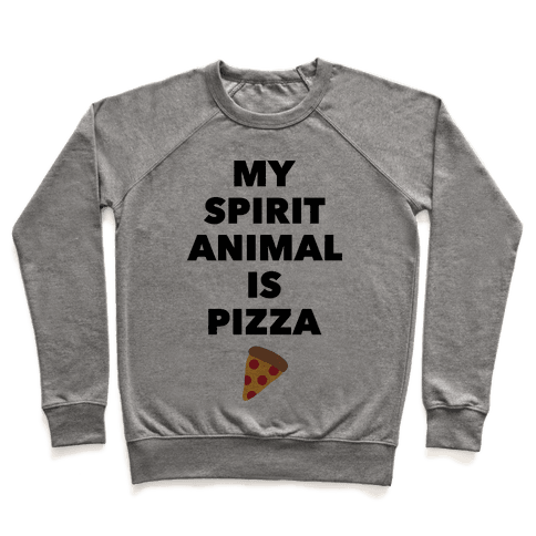 Pizza Spirit Animal Pullover