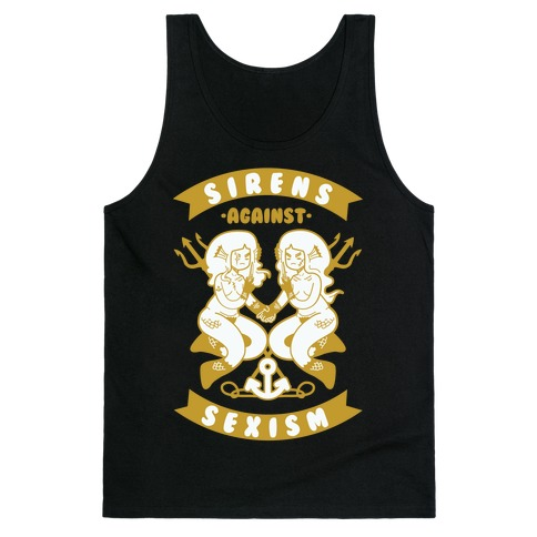 Sirens Against Sexism Tank Top