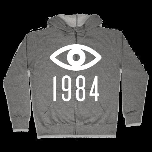 1984 Eye Zip Hoodie