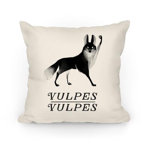 Vulpes Vulpes (Part 1) Pillow