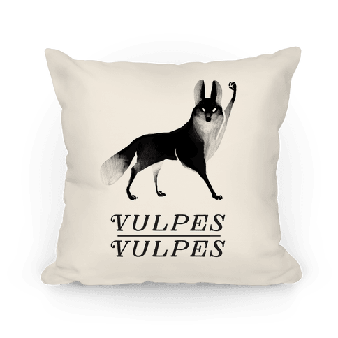 Vulpes Vulpes (Part 1) Pillow