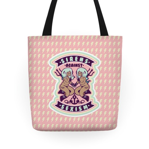 Sirens Against Sexism Tote