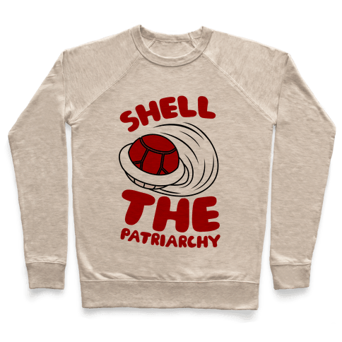Red Shell The Patriarchy Pullover