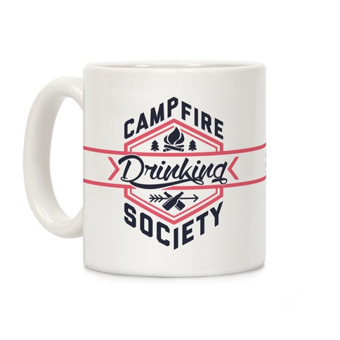 Campfire Drinking Society Coffee Mug