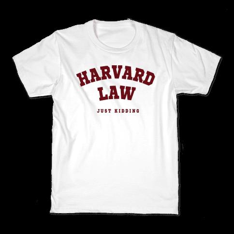 Harvard Law JK Kids T-Shirt