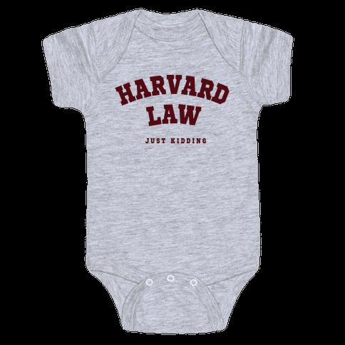 Harvard Law JK Baby Onesy