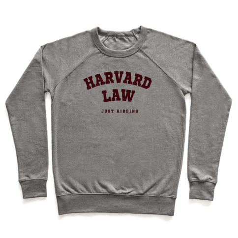 Harvard Law JK Pullover