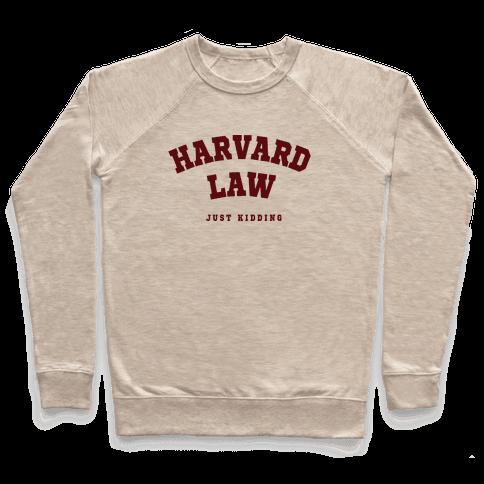 Harvard Law JK Pullover