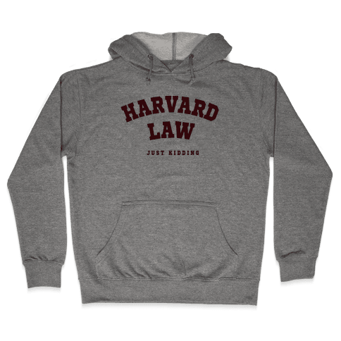 Harvard Law JK Hooded Sweatshirt
