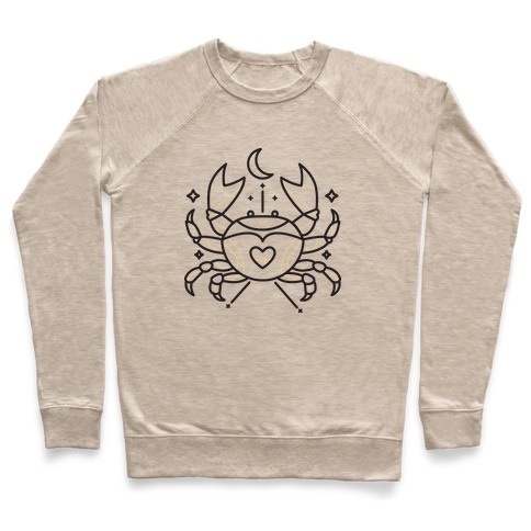 Astrology Cancer Crab Pullover
