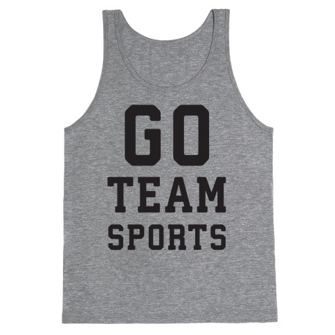 Go Team Sports Tank Top