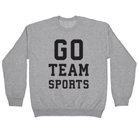 Go Team Sports Pullover