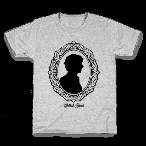 Sherlock Cameo Kids T-Shirt