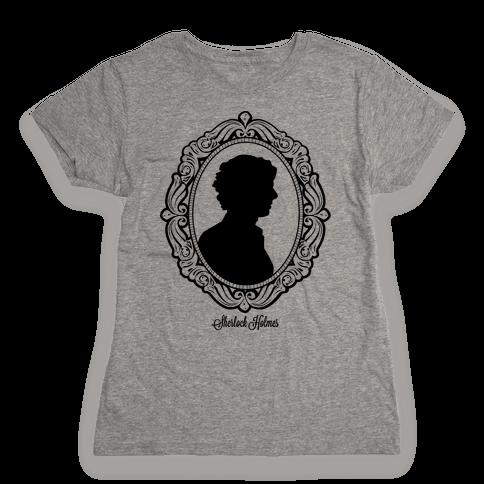 Sherlock Cameo Womens T-Shirt