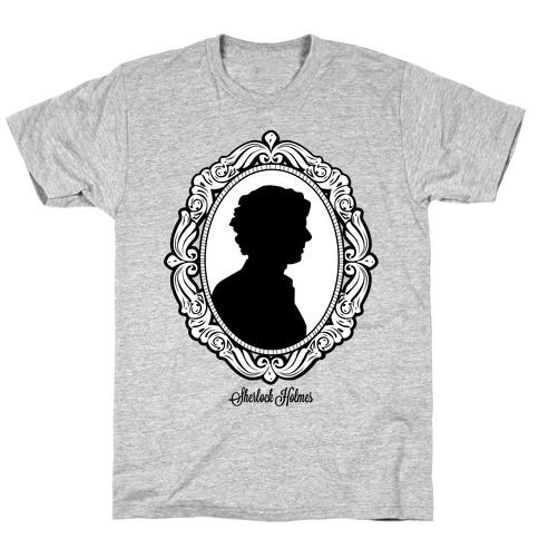Sherlock Cameo Mens T-Shirt