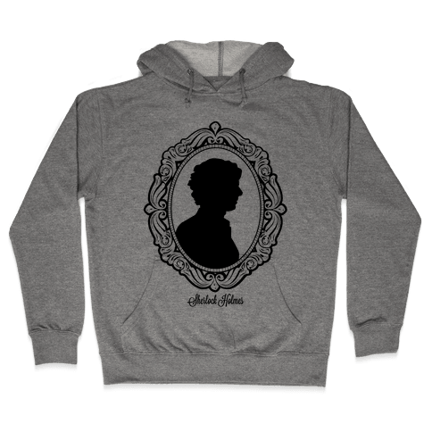 Sherlock Cameo Hooded Sweatshirt