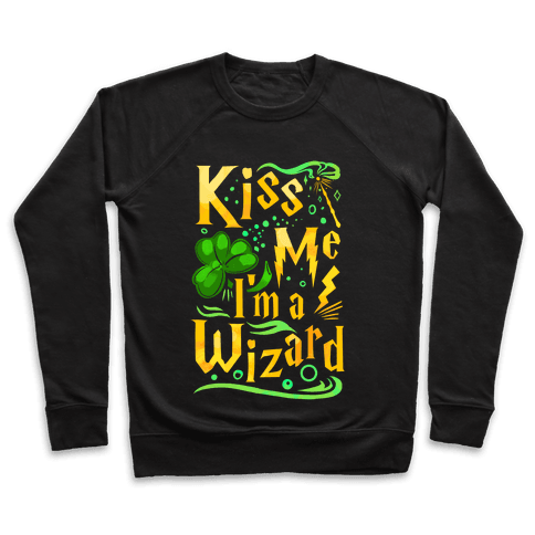 Kiss Me! I'm a Wizard! Pullover