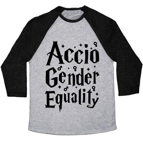 Accio Gender Equality Baseball Tee
