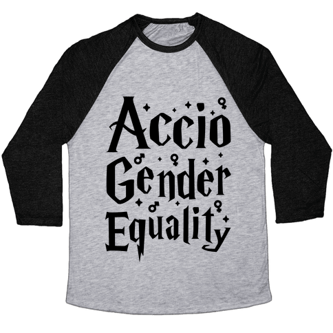 Accio Gender Equality Baseball Tee
