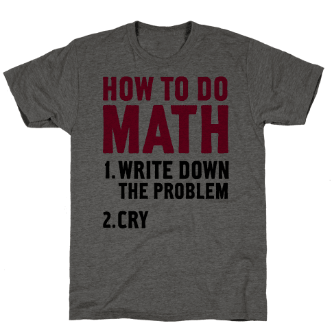 How To Do Math
