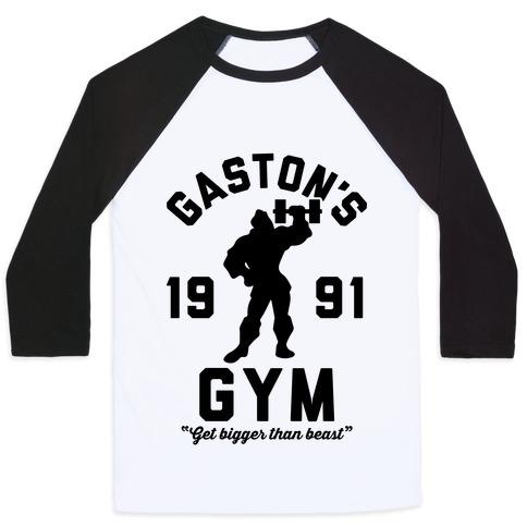 Gaston's Gym Baseball Tee