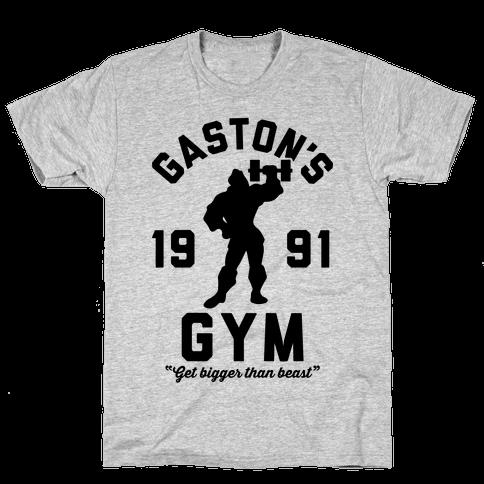 Gaston's Gym Mens T-Shirt