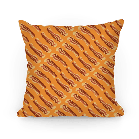 Bacon Eternity Pillow