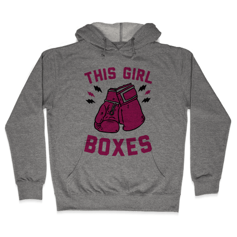 This Girl Boxes Hooded Sweatshirt
