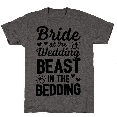 Bride At The Wedding Mens T-Shirt