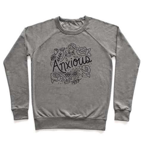 Anxious Florals Pullover