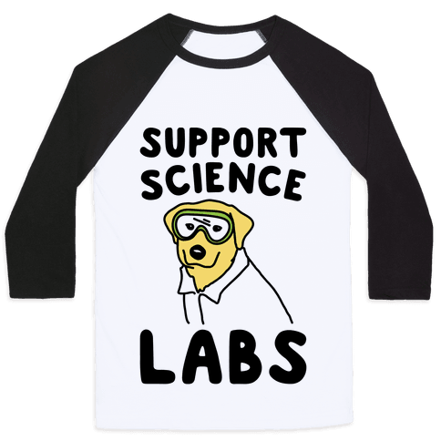 Support Science Labs Baseball Tee