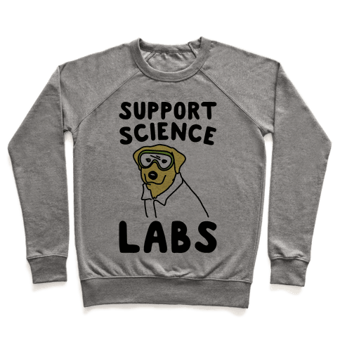 Support Science Labs Pullover