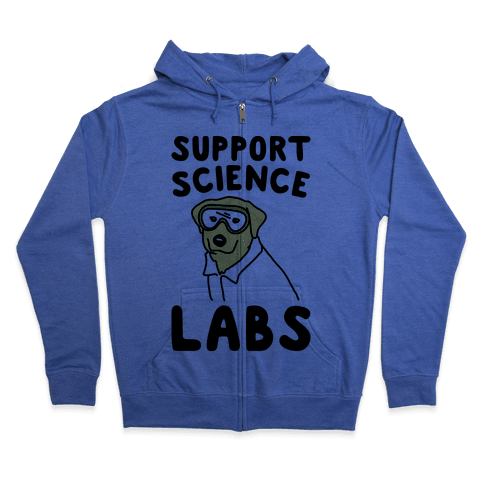 Support Science Labs Zip Hoodie