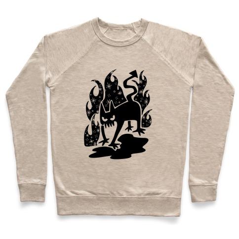 Demon Cat Pullover