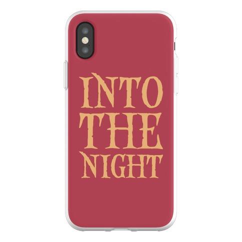 Into The Night Parody Phone Flexi-Case