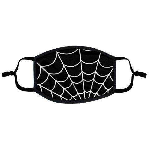 Spiderweb Flat Face Mask