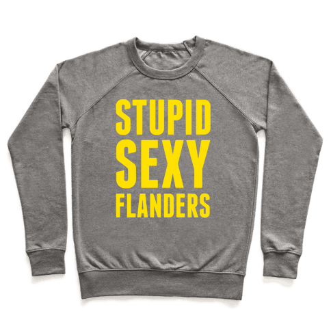 Stupid Sexy Flanders Pullover