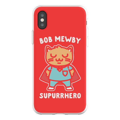 Bob Mewby Parody Phone Flexi-Case