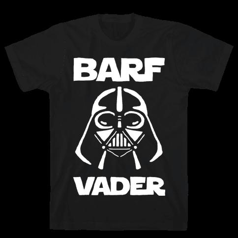 Barf Vader Mens T-Shirt